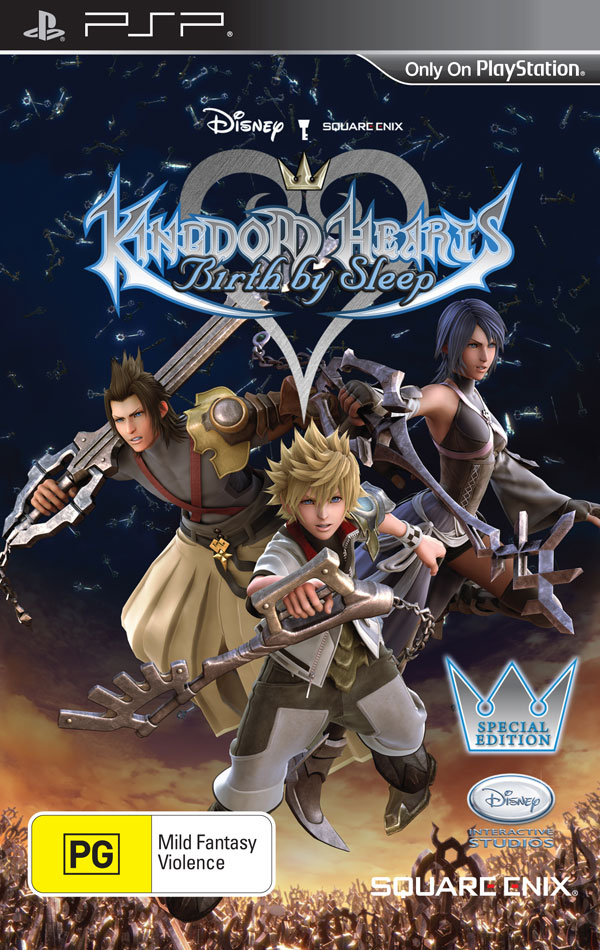 Box art - Kingdom Hearts: Birth by Sleep