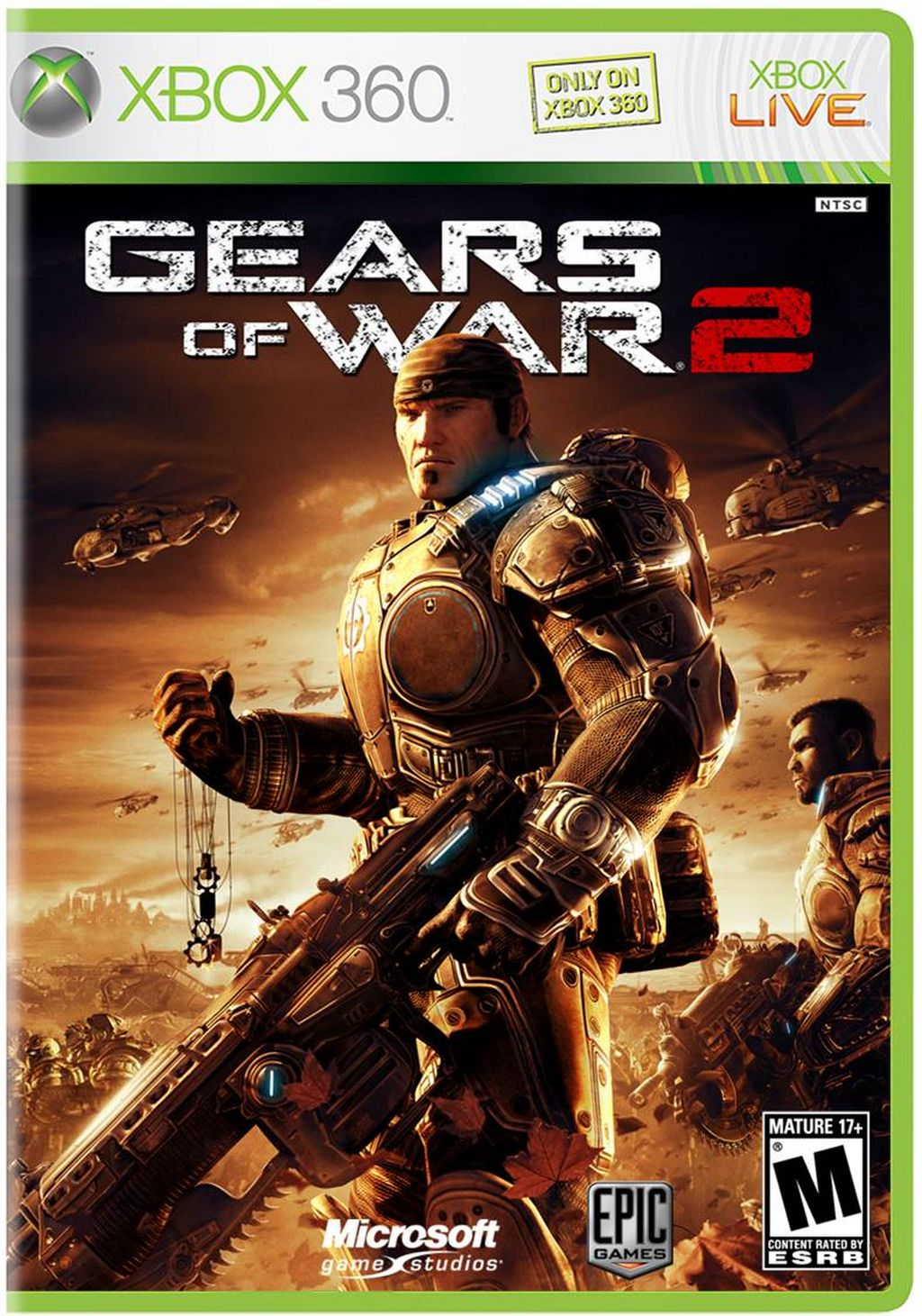 Box art - Gears of War 2