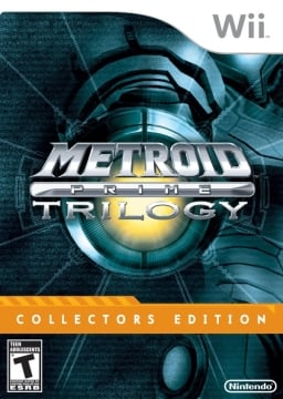 Box art - Metroid Prime Trilogy