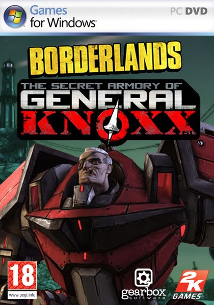 Box art - Borderlands: The Secret Armory of General Knoxx