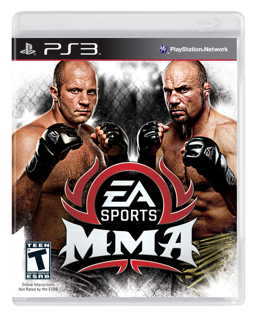 Box art - EA Sports: MMA