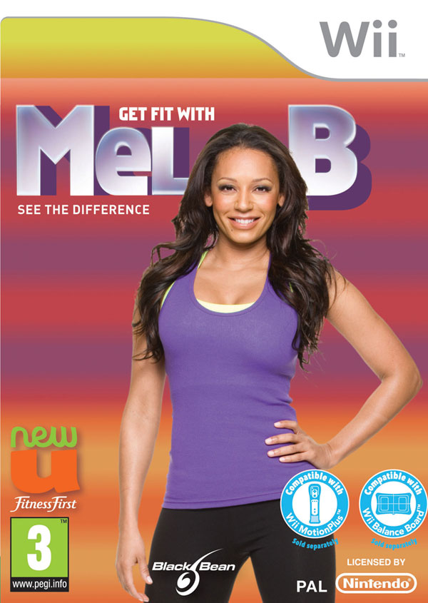 Box art - Get Fit with Mel B