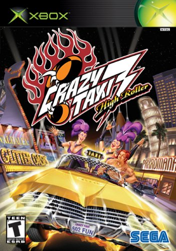 Box art - Crazy Taxi