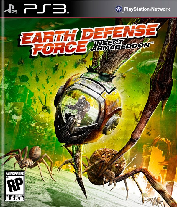 Box art - Earth Defense Force: Insect Armageddon
