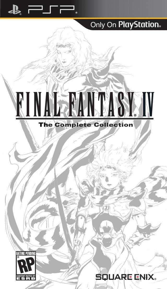 Box art - Final Fantasy IV: The Complete Collection