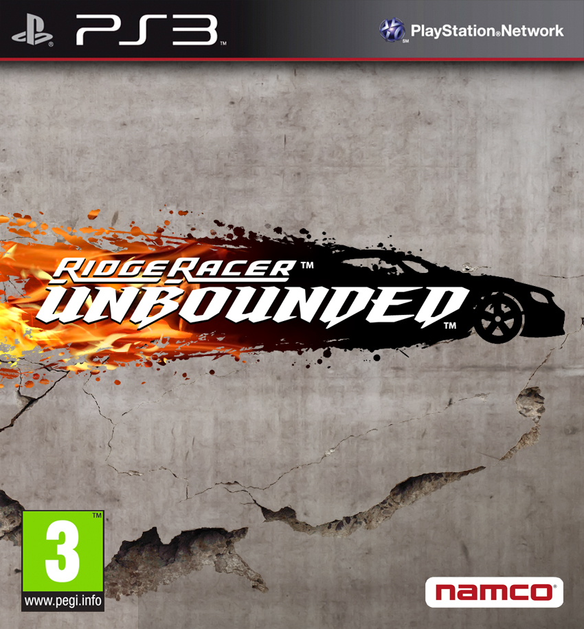 Box art - Ridge Racer Unbounded