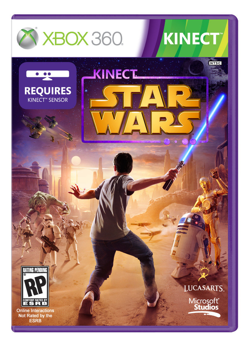 Box art - Kinect Star Wars