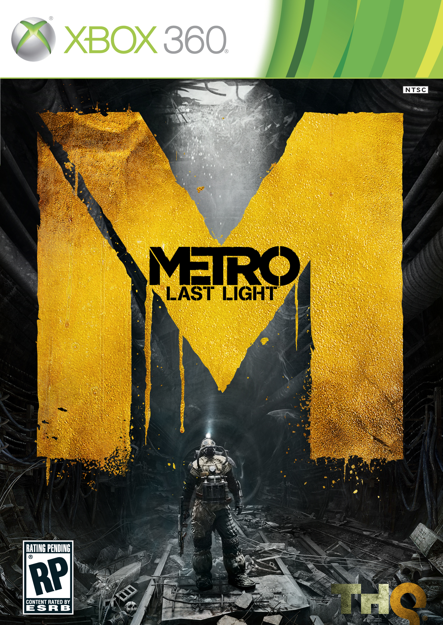 Box art - Metro: Last Light