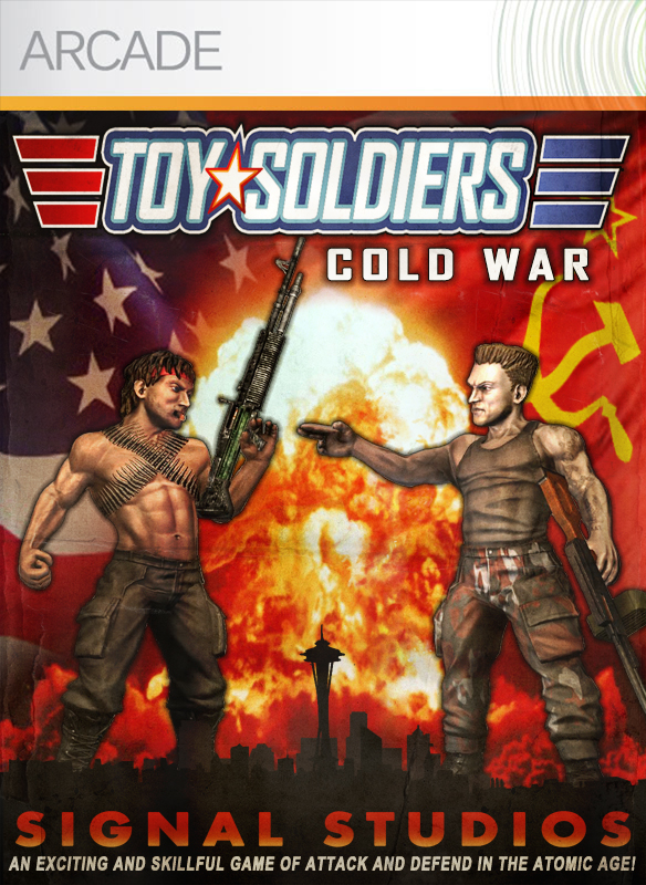 Box art - Toy Soldiers: Cold War