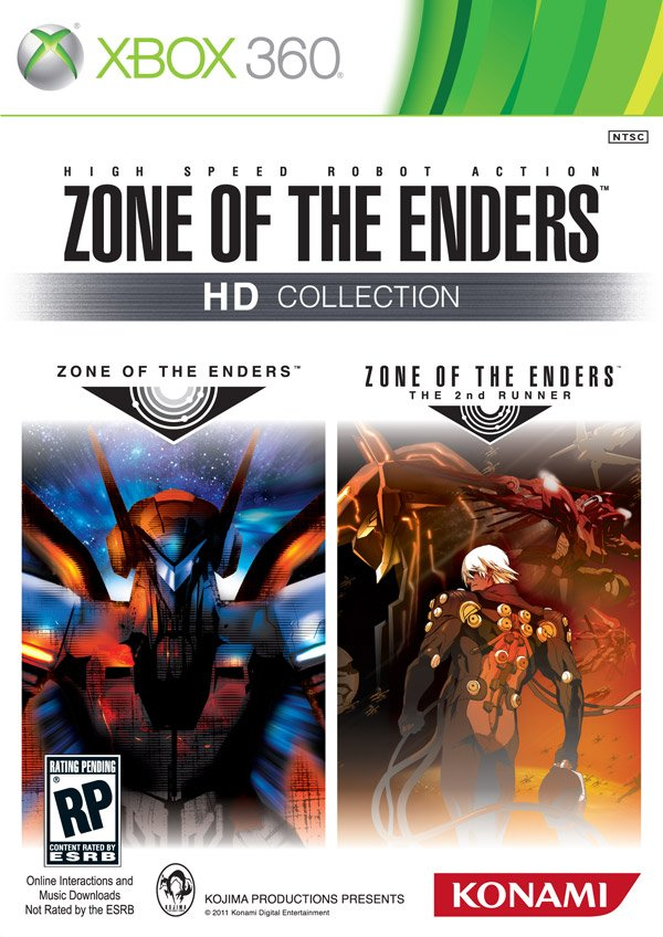 Box art - Zone of the Enders HD Collection