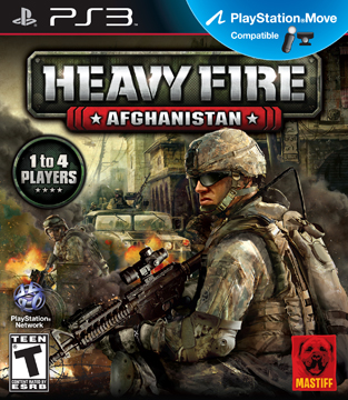 Box art - Heavy Fire: Afghanistan