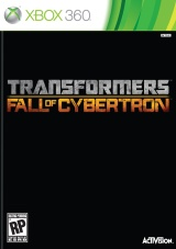 Box art - Transformers: Fall of Cybertron