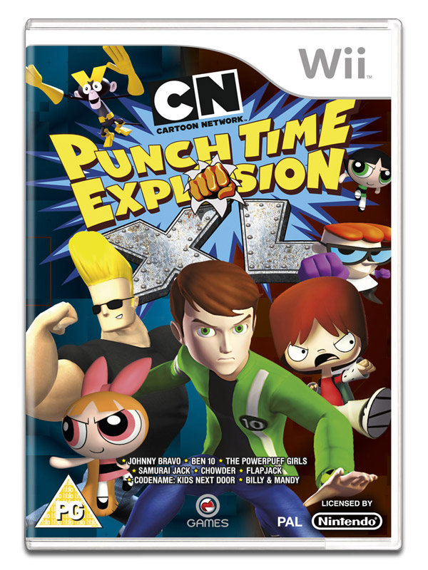 Box art - Cartoon Network: Punch Time Explosion XL