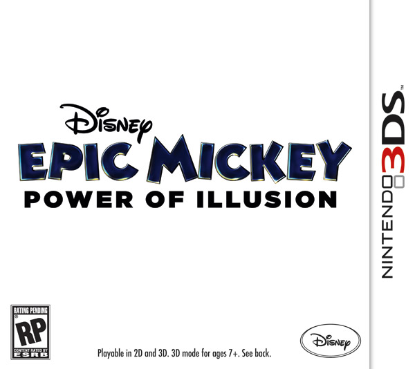 Box art - Disney Epic Mickey: The Power of Illusion