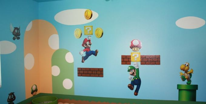 Mario Kids Bedroom