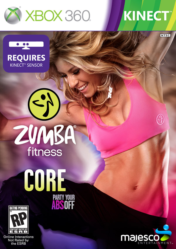 Box art - Zumba Fitness Core