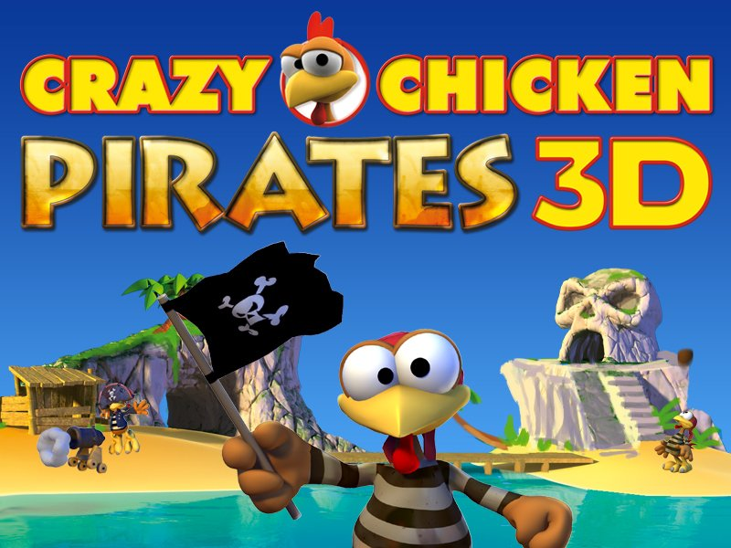 Box art - Crazy Chicken Pirates