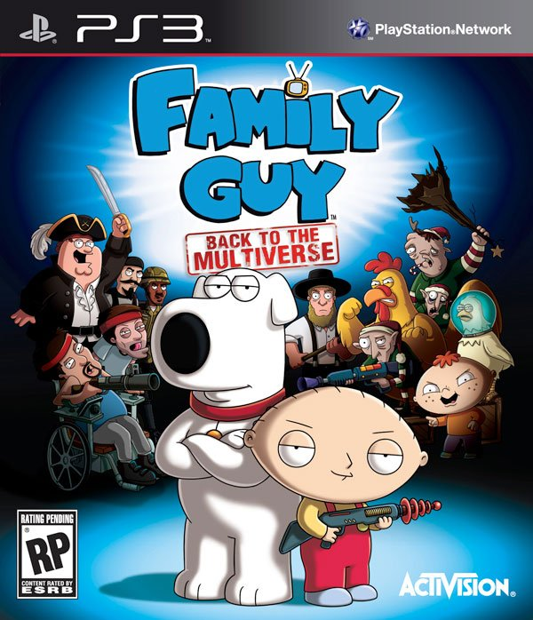 Box art - Family Guy: Back to the Multiverse