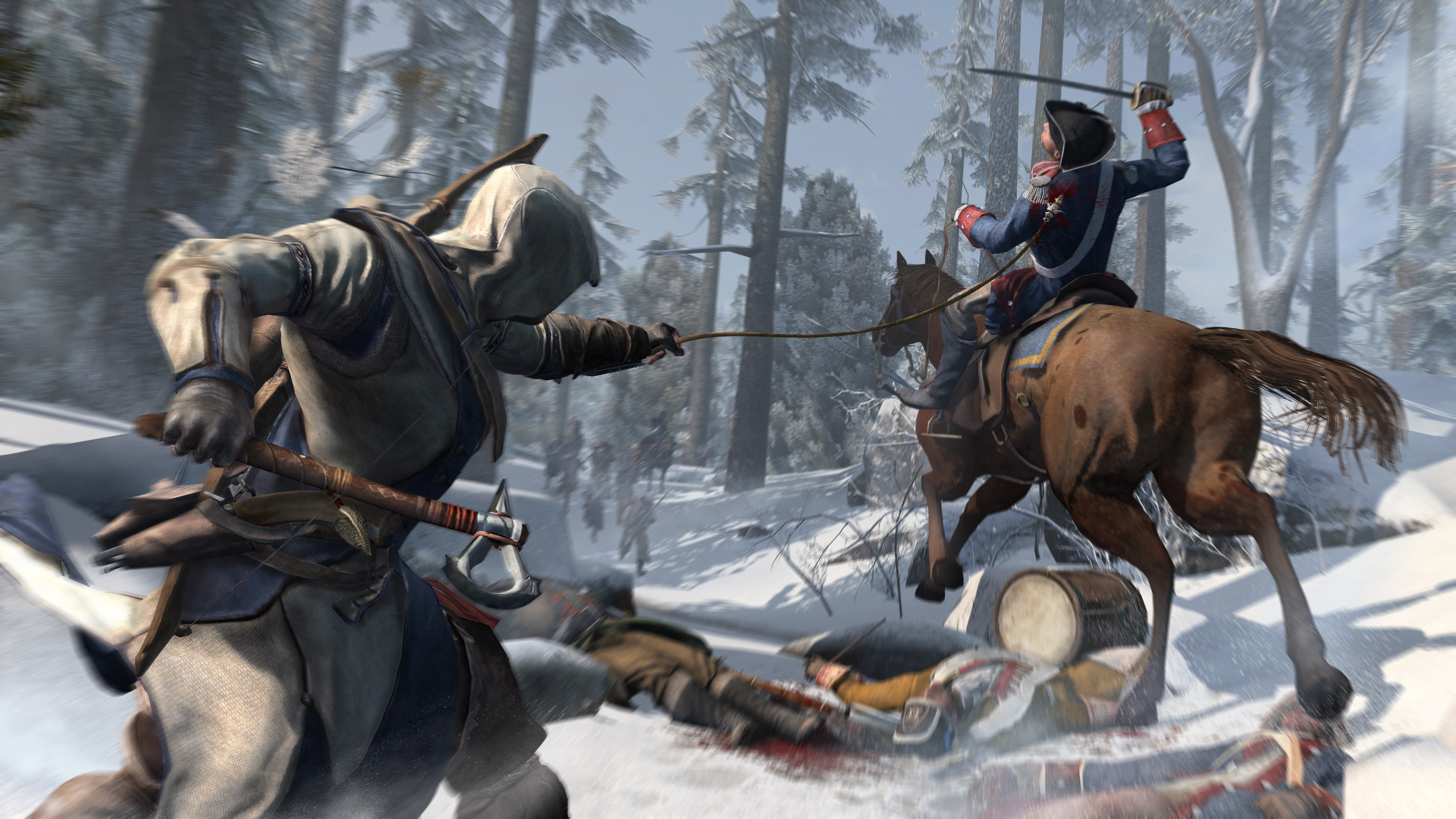 Use Connor S Weapons To Open The Assassin S Creed Iii Special