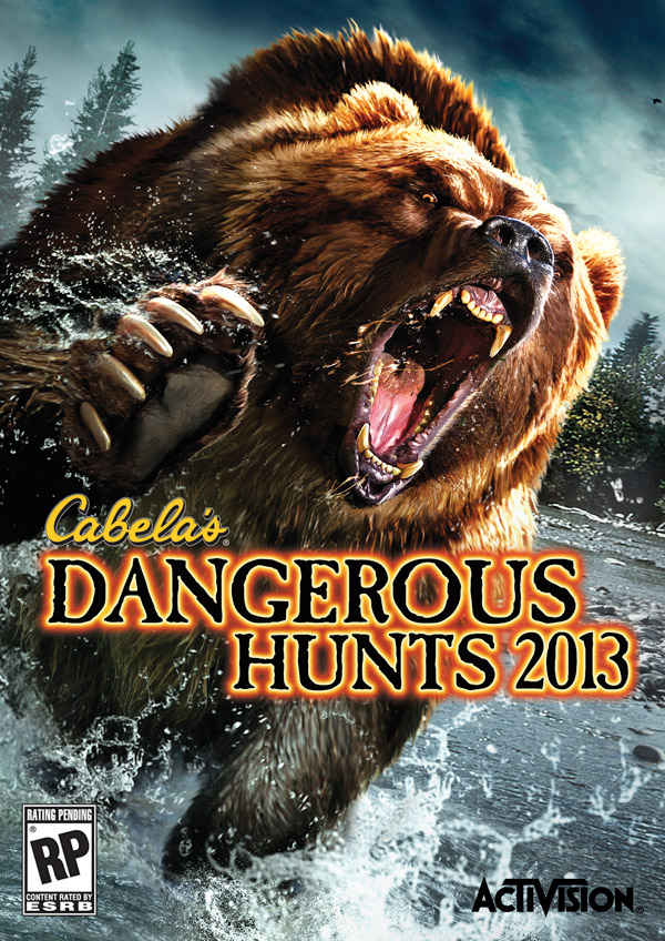 Box art - Cabela's Dangerous Hunts 2013