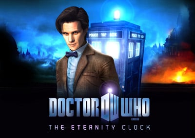 Box art - Dr Who: The Eternity Clock