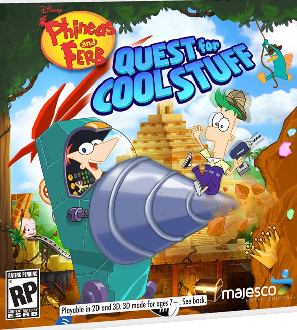 Box art - Phineas and Ferb: Quest for Cool Stuff
