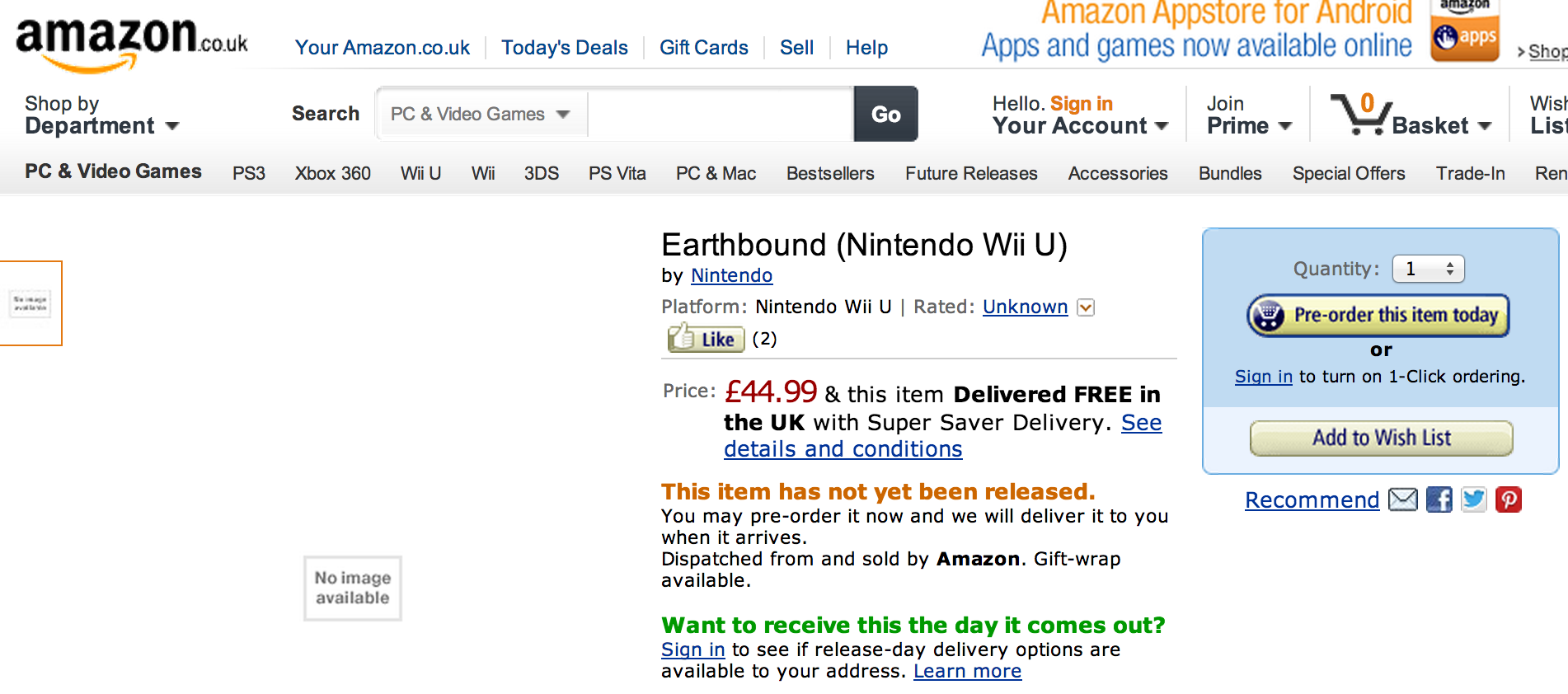 Is Nintendo Preparing A Wii U Earthbound Collection For