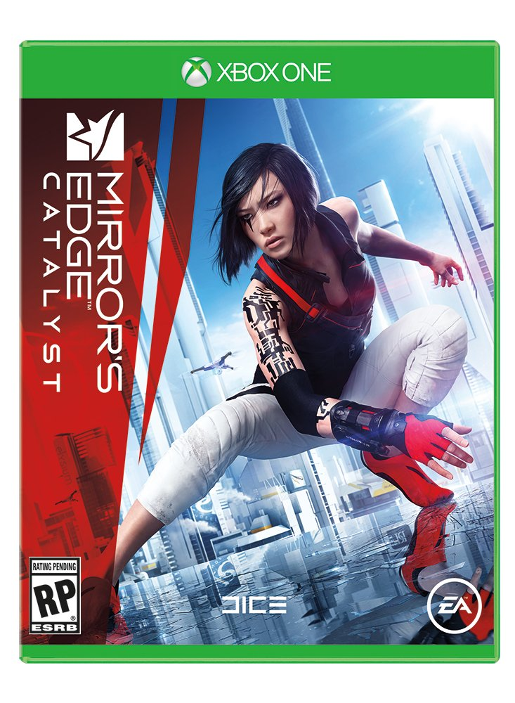 Box art - Mirror's Edge Catalyst,Mirror's Edge 2