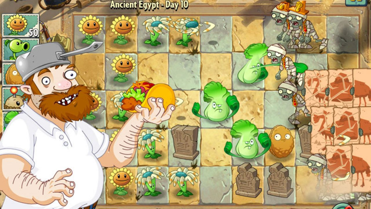 Plants vs  Zombies 2: It's About Time Review - GameRevolution