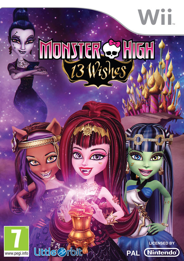 Box art - Monster High 13 Wishes