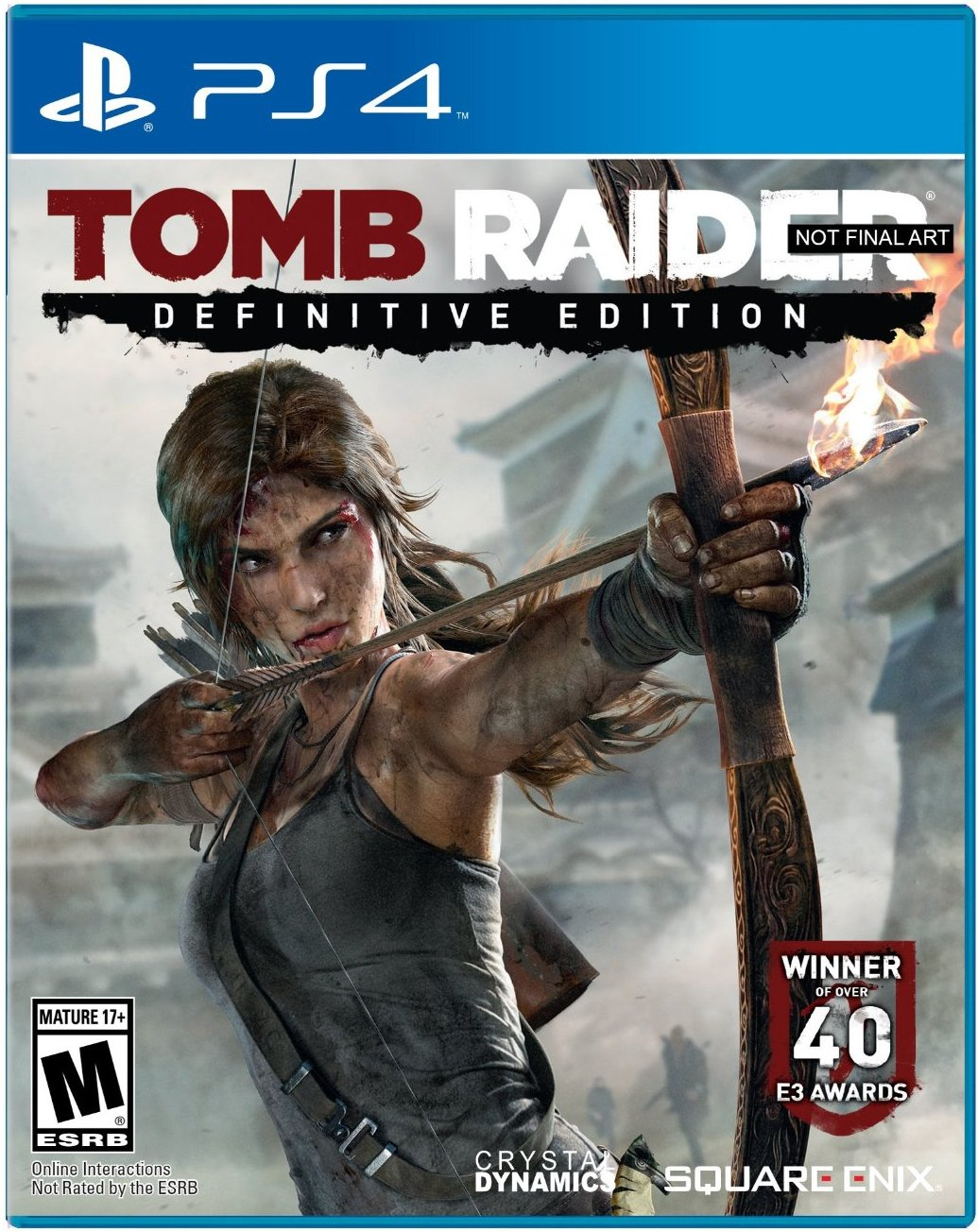 Box art - Tomb Raider: Definitive Edition