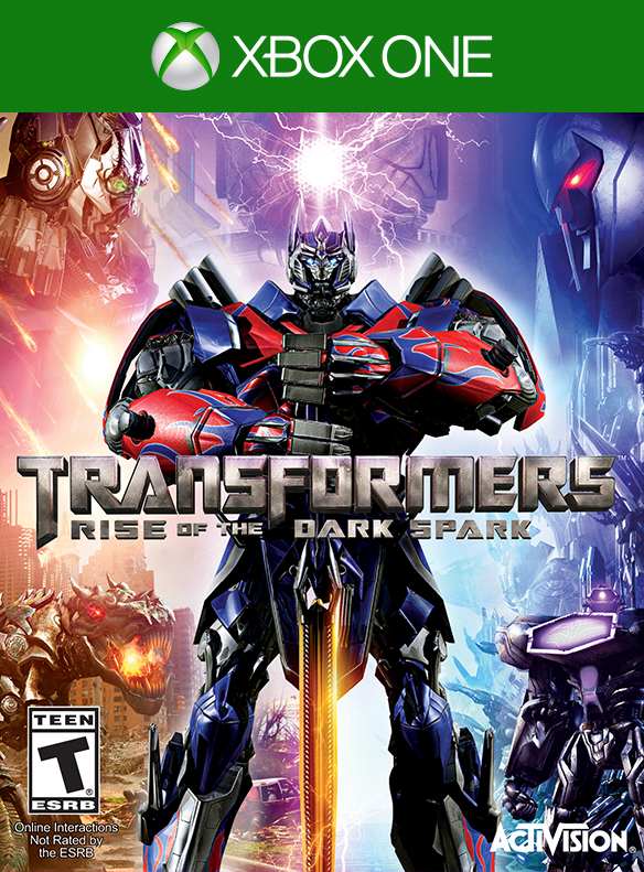 Box art - Transformers: Rise of the Dark Spark