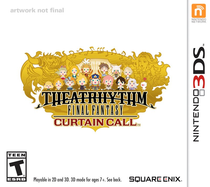 Box art - Theatrhythm Final Fantasy Curtain Call