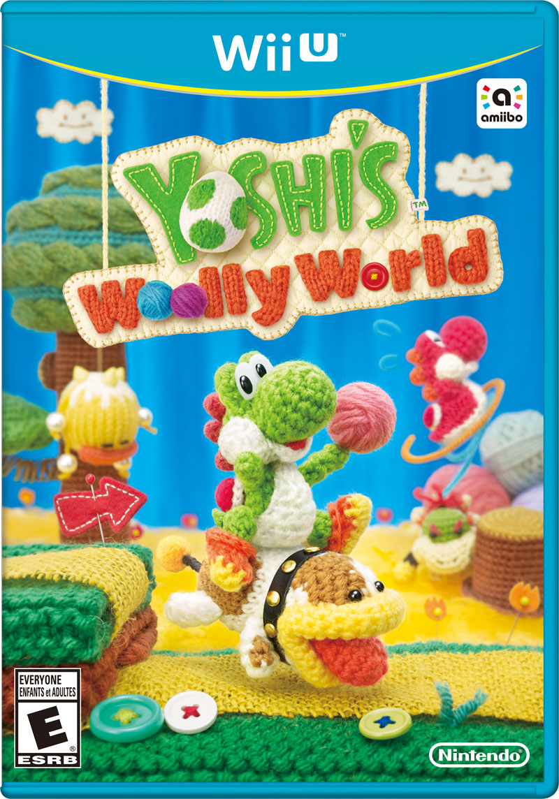 Box art - Yoshi's Woolly World