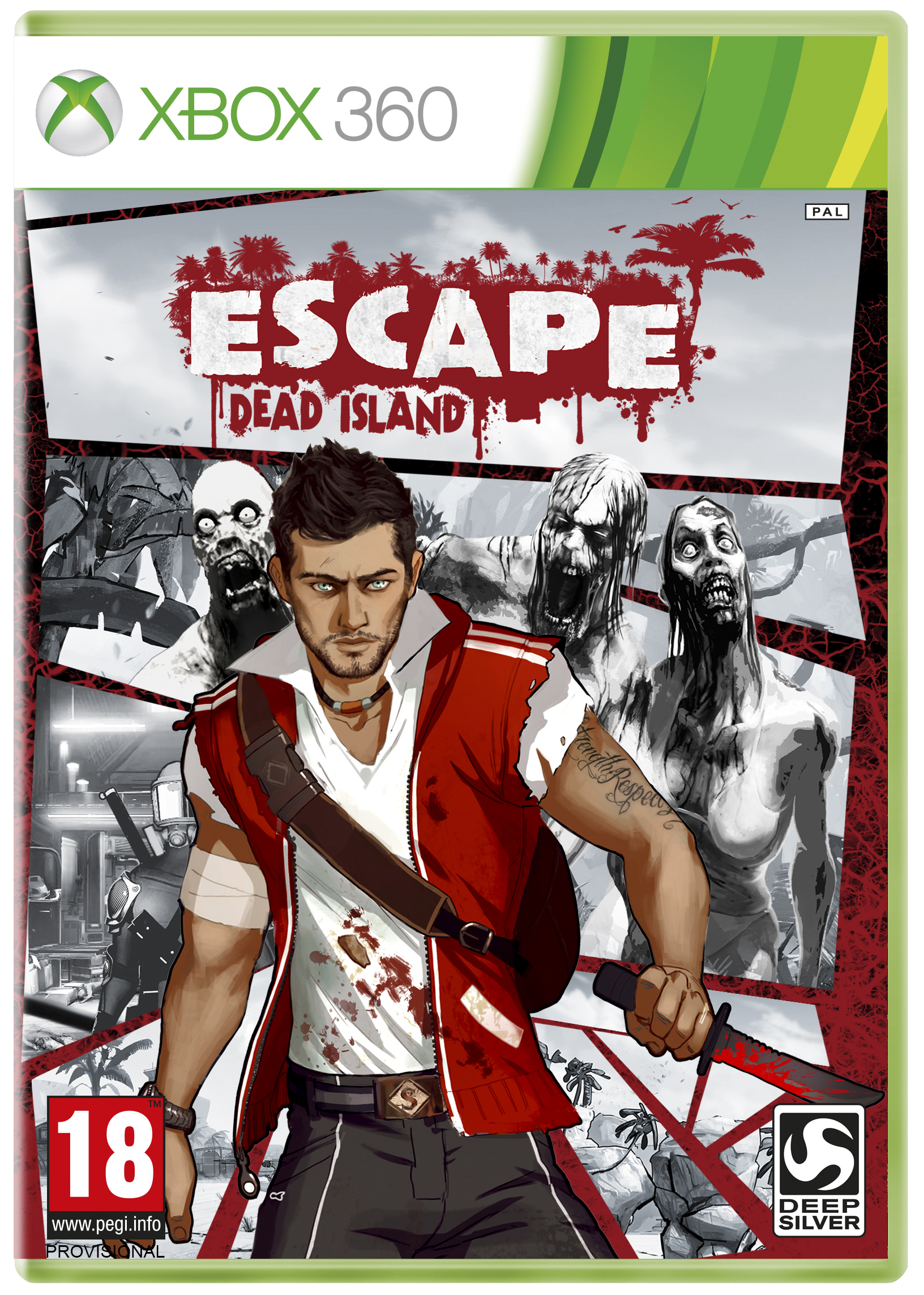 Box art - ESCAPE Dead Island