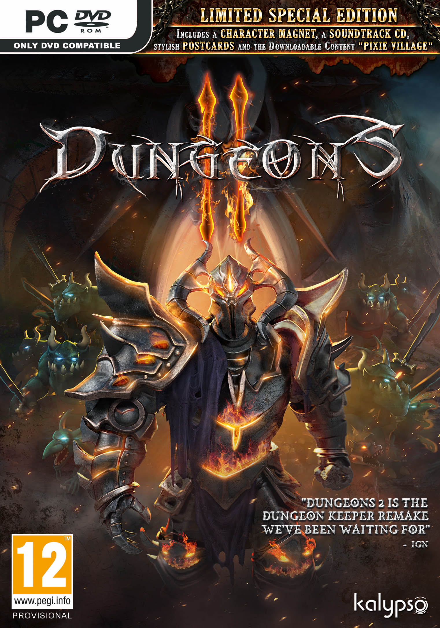 Box art - Dungeons 2
