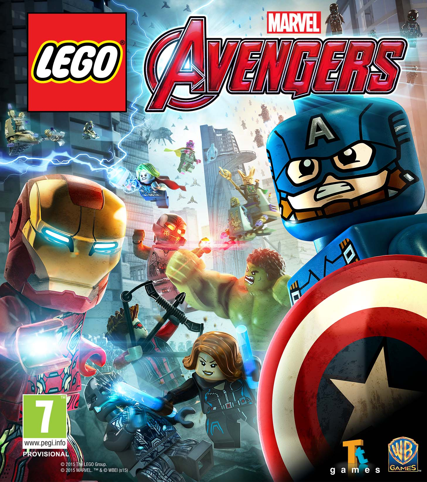 Box art - LEGO Marvel Avengers