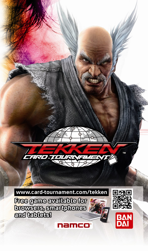 Box art - Tekken Card Tournament