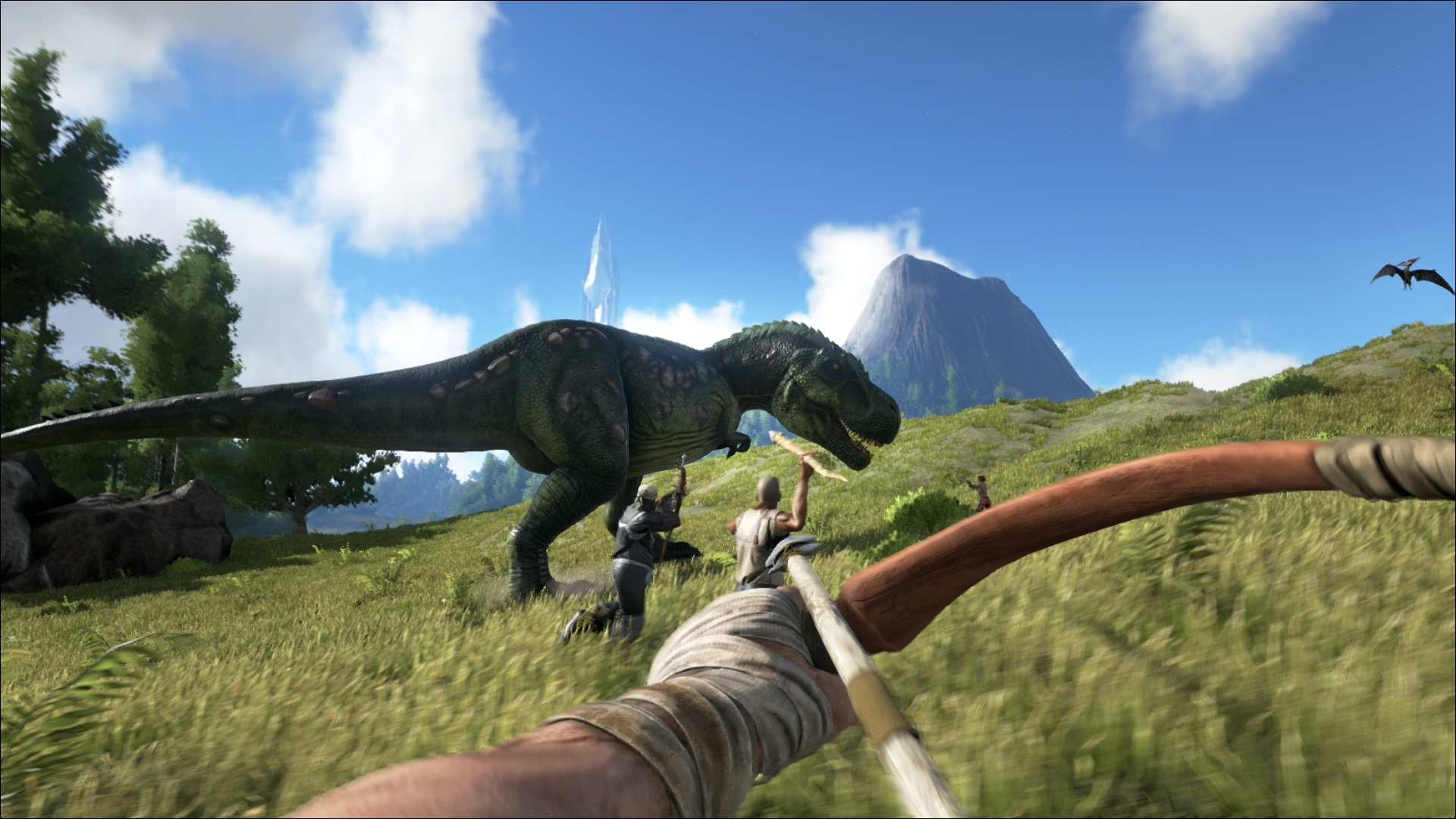 ARK: Survival Evolved Is Your Dinosaur Fantasy Video Game
