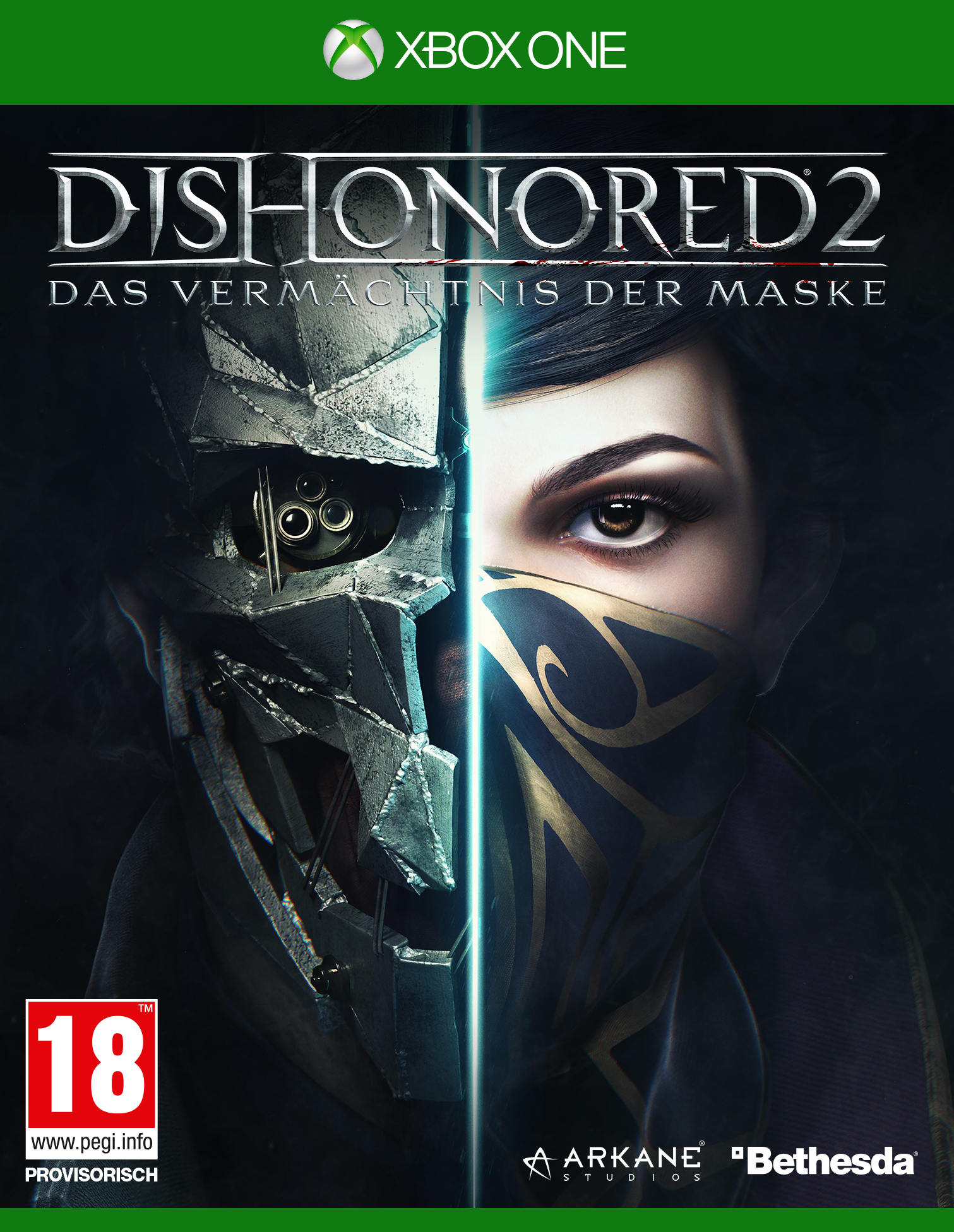Box art - Dishonored 2