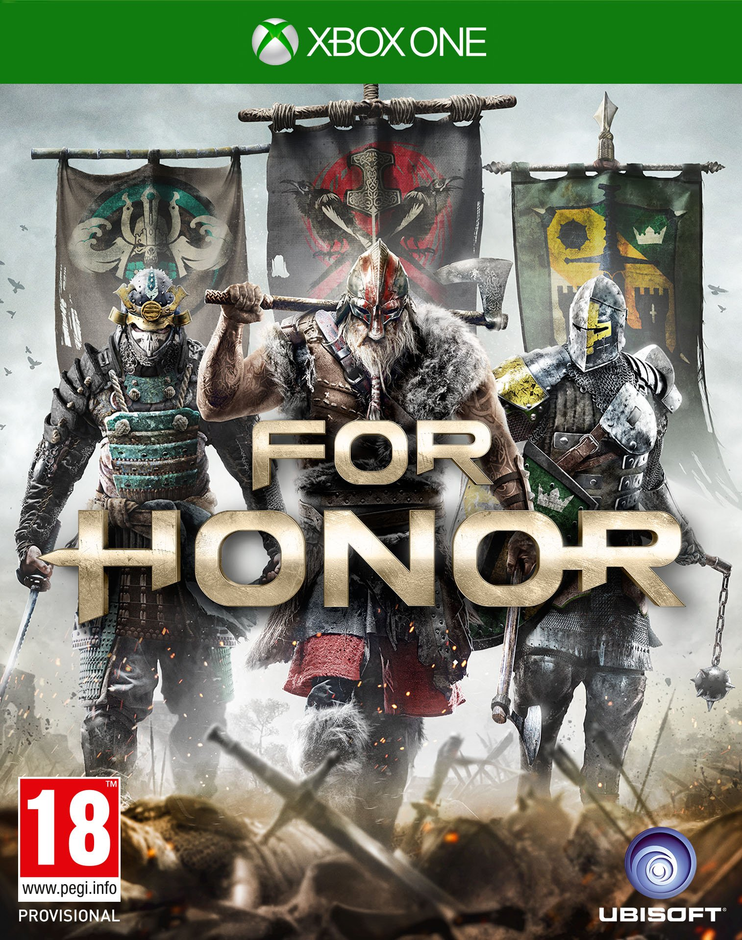 Box art - For Honor