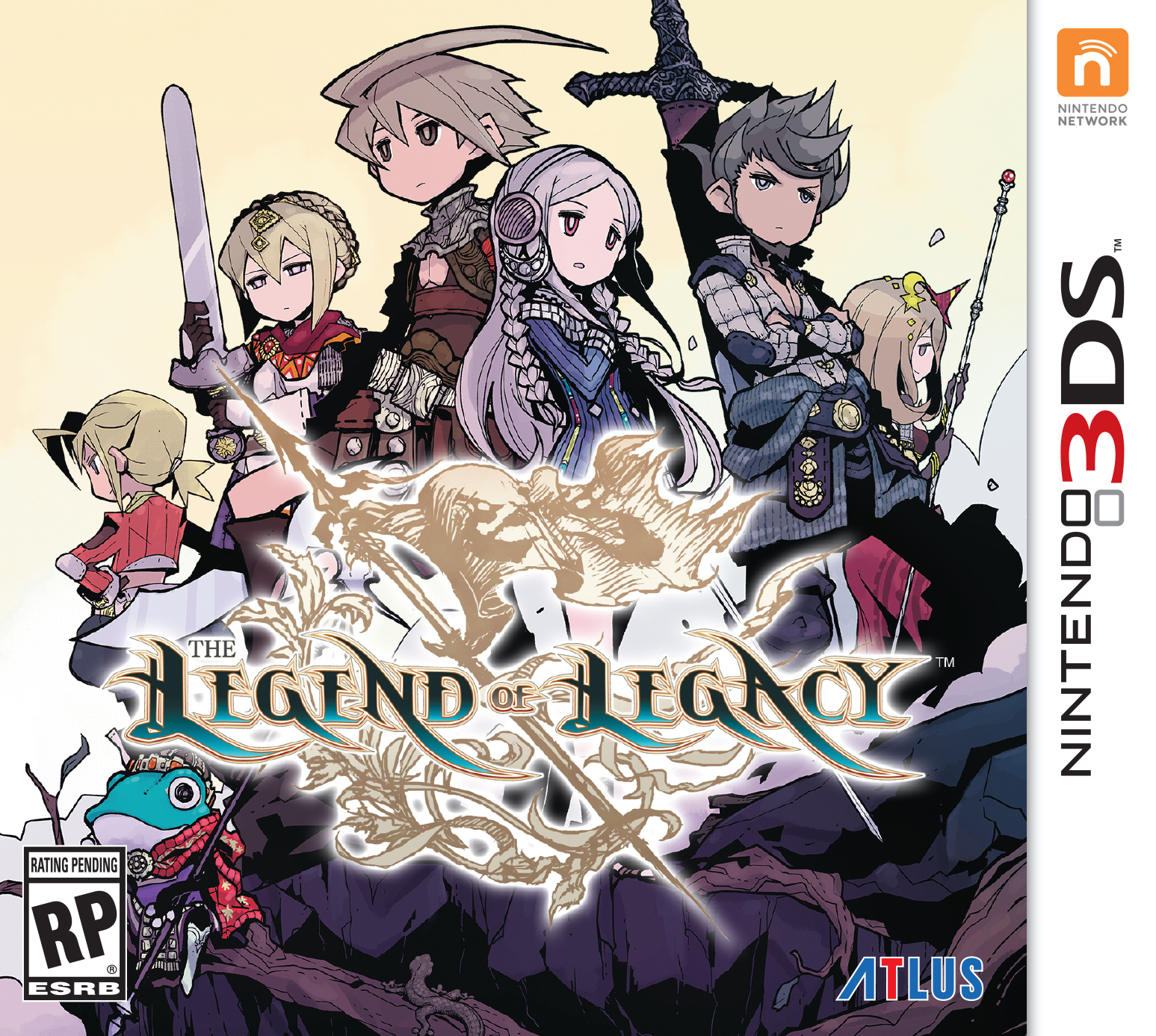 Box art - The Legend of Legacy