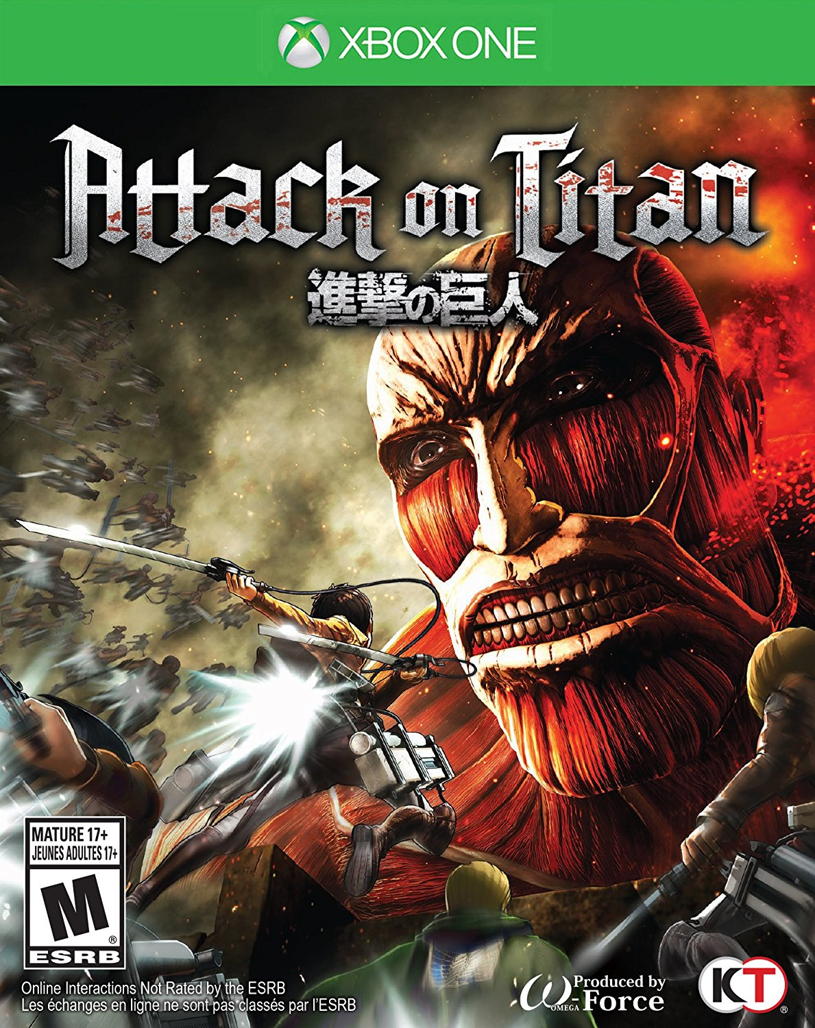 Box art - Attack on Titan