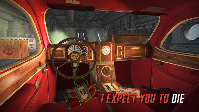Box art - I Expect You To Die