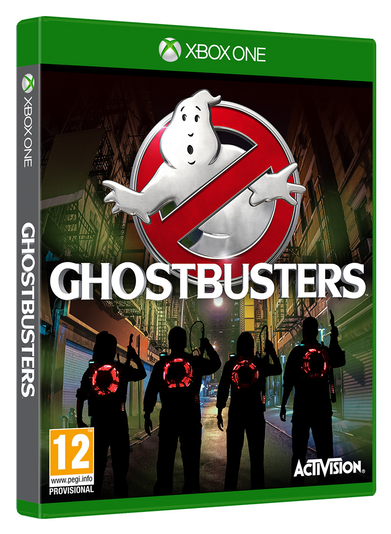 Box art - Ghostbusters (2016)