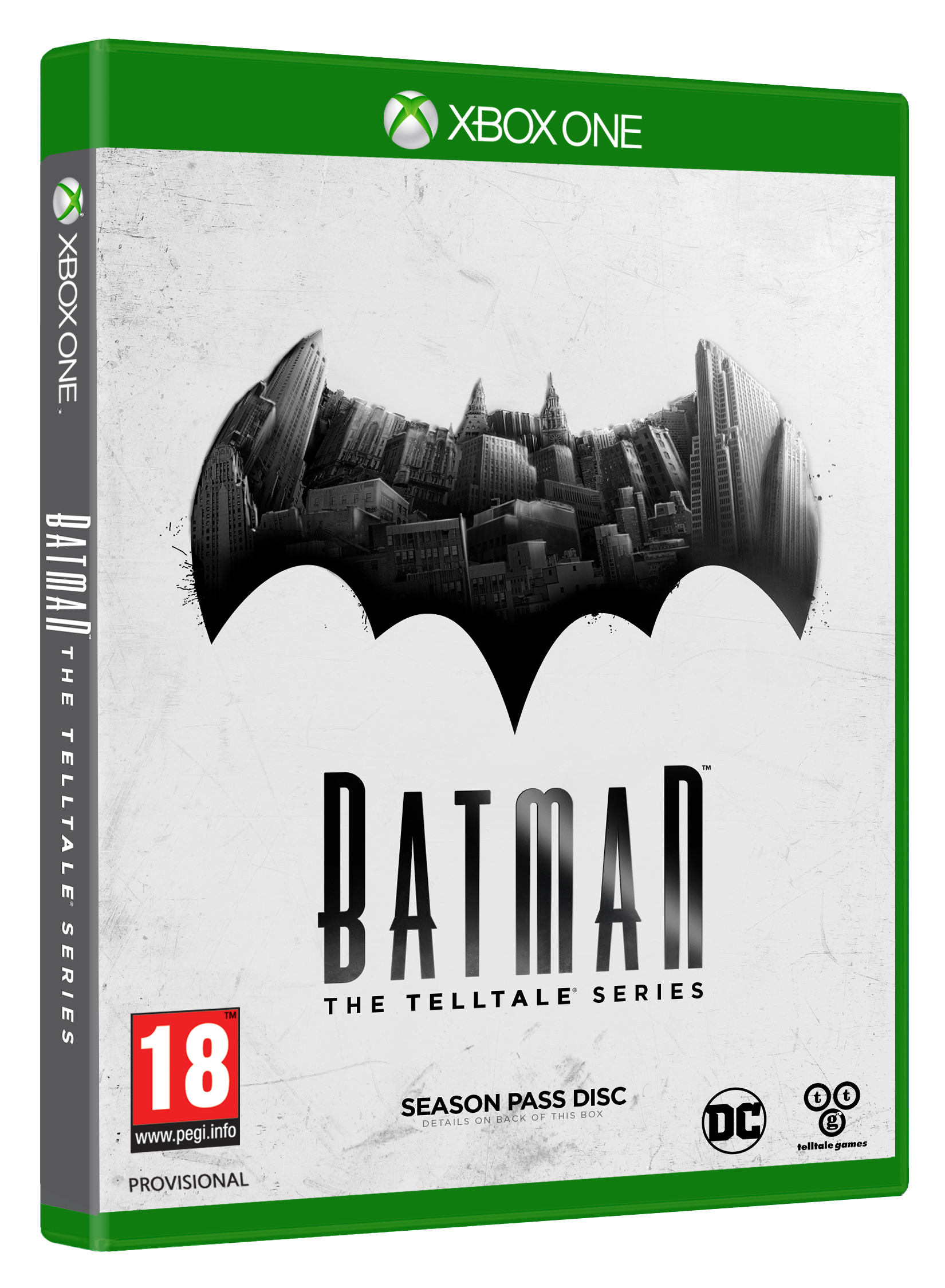Box art - Batman - The Telltale Series