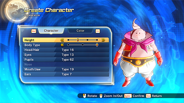 Dragon Ball Xenoverse 2 Choosing the Best Race In Character