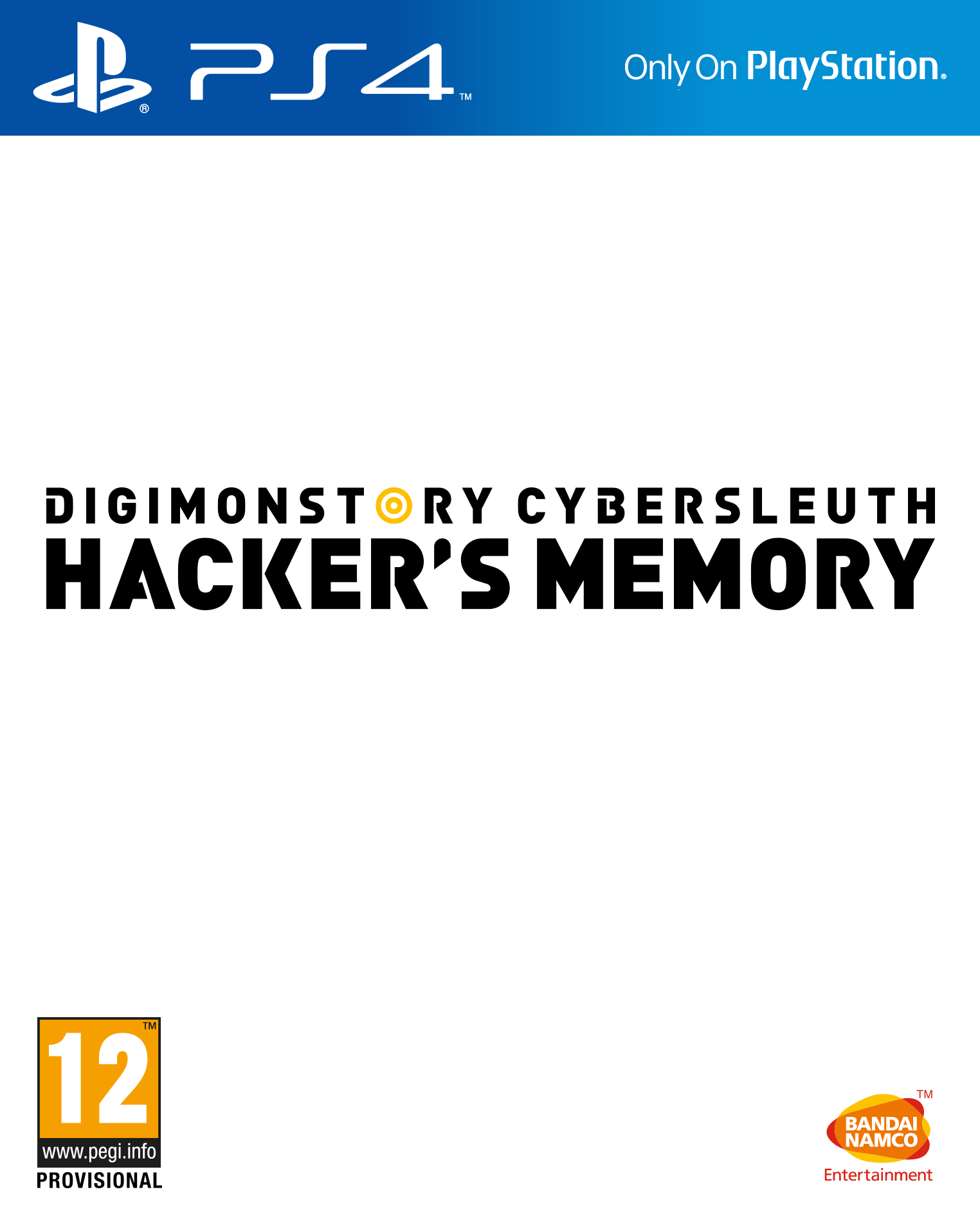 Box art - Digimon Story Cybersleuth: Hacker's Memory