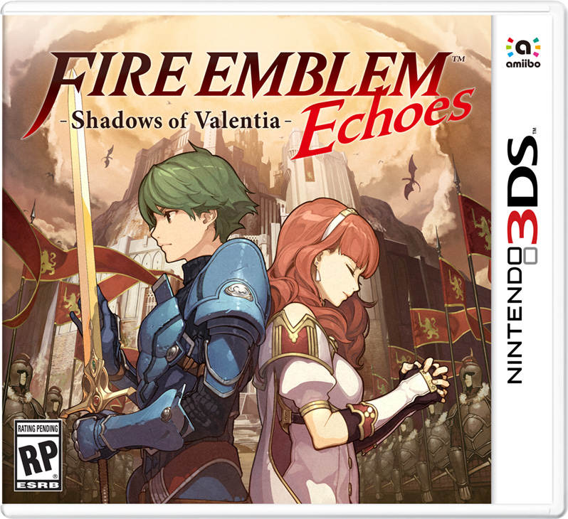 Box art - Fire Emblem Echoes: Shadows of Valentia