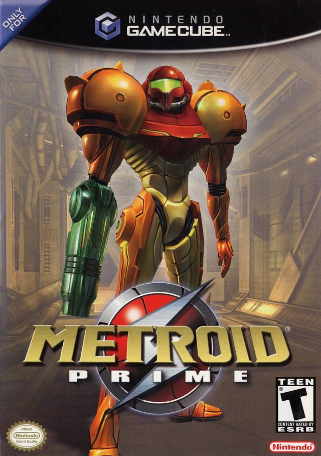 Box art - Metroid Prime